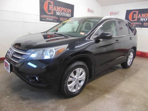 2013 Honda CR-V for sale at Champion Motors in Amherst NH