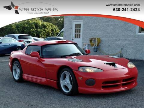 1995 Dodge Viper for sale at Star Motor Sales in Downers Grove IL