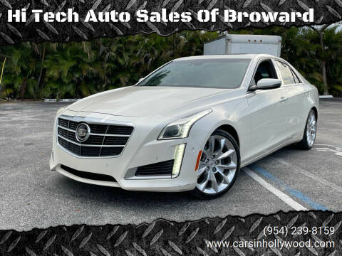 2014 Cadillac CTS for sale at Hi Tech Auto Sales Of Broward in Hollywood FL
