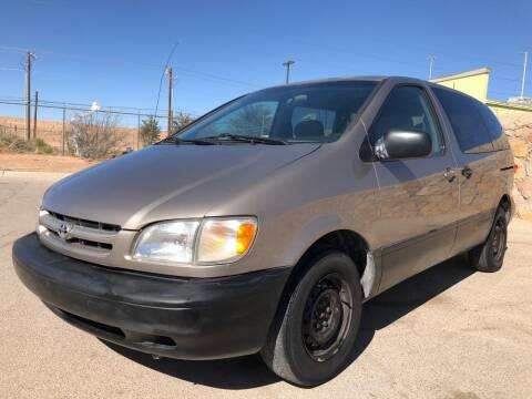 1999 Toyota Sienna for sale at Eastside Auto Sales in El Paso TX