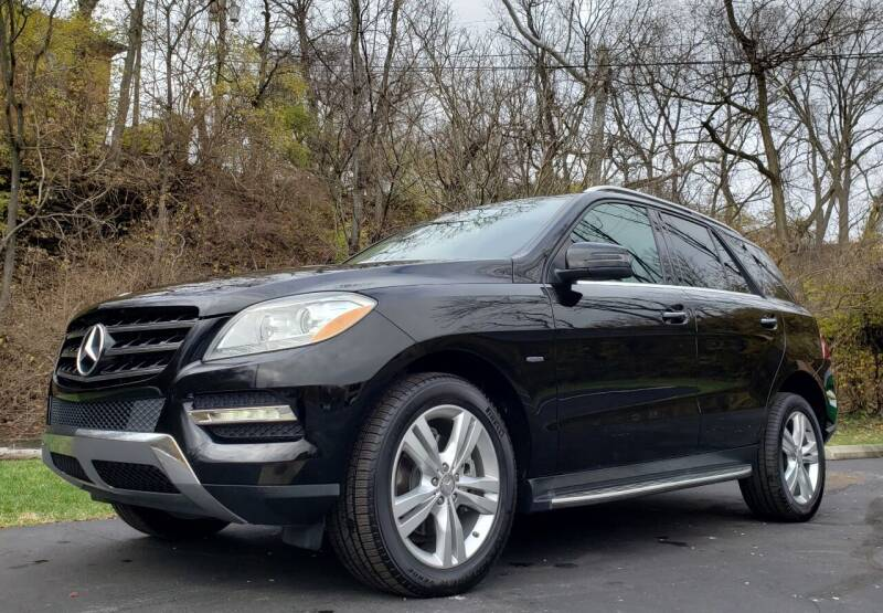 2012 Mercedes-Benz M-Class for sale at The Motor Collection in Columbus OH