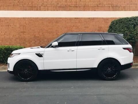 2019 Land Rover Range Rover Sport for sale at RPM Motorsports Of Atlanta in Atlanta GA