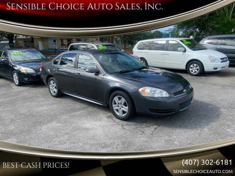 2010 Chevrolet Impala for sale at Sensible Choice Auto Sales, Inc. in Longwood FL