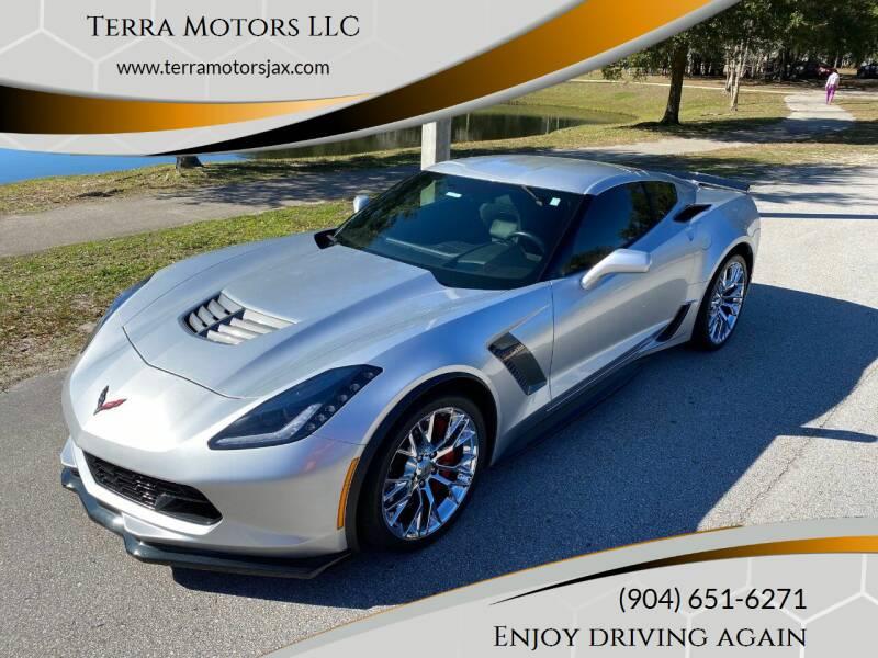2018 Chevrolet Corvette for sale at Terra Motors LLC in Jacksonville FL