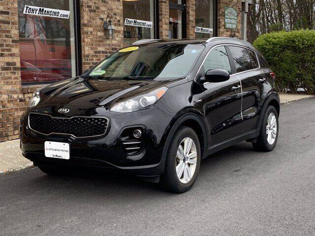2017 Kia Sportage for sale at The King of Credit in Clifton Park NY