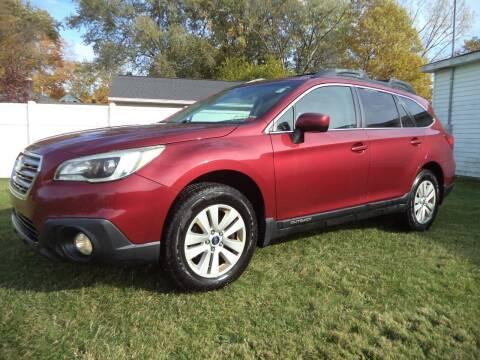 2015 Subaru Outback for sale at Niewiek Auto Sales in Grand Rapids MI