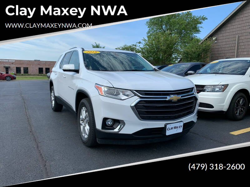 2018 Chevrolet Traverse for sale at Clay Maxey NWA in Springdale AR
