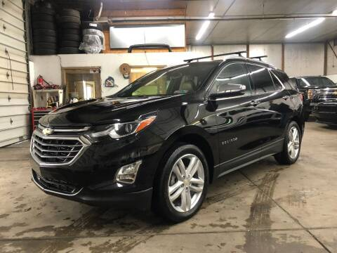 2018 Chevrolet Equinox for sale at T James Motorsports in Gibsonia PA