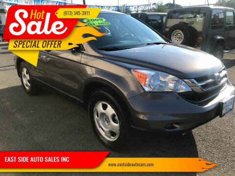 2010 Honda CR-V for sale at EAST SIDE AUTO SALES INC in Paterson NJ