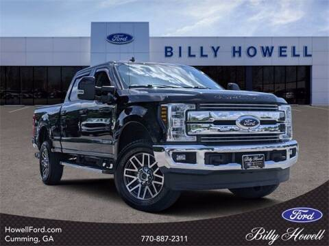 2019 Ford F-250 Super Duty for sale at BILLY HOWELL FORD LINCOLN in Cumming GA