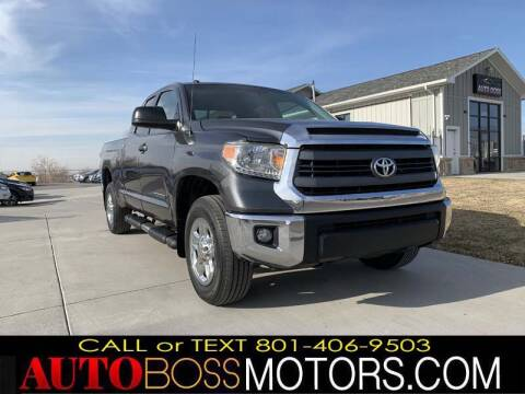 2014 Toyota Tundra for sale at Auto Boss in Woodscross UT