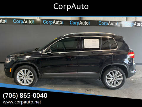 2013 Volkswagen Tiguan for sale at CorpAuto in Cleveland GA