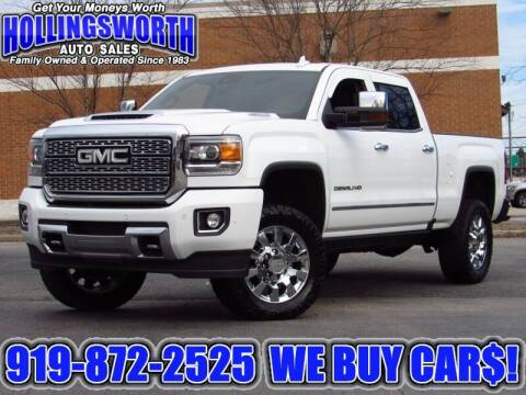 2019 GMC Sierra 2500HD for sale at Hollingsworth Auto Sales in Raleigh NC