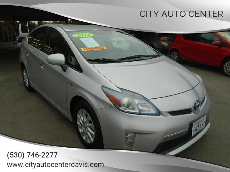 2012 Toyota Prius Plug-in Hybrid for sale at City Auto Center in Davis CA