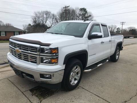 2014 Chevrolet Silverado 1500 for sale at E Motors LLC in Anderson SC