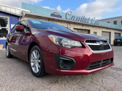 2012 Subaru Impreza for sale at Capital City Automotive in Austin TX