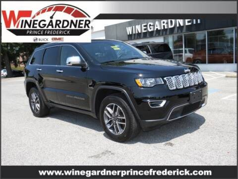 2020 Jeep Grand Cherokee for sale at Winegardner Auto Sales in Prince Frederick MD