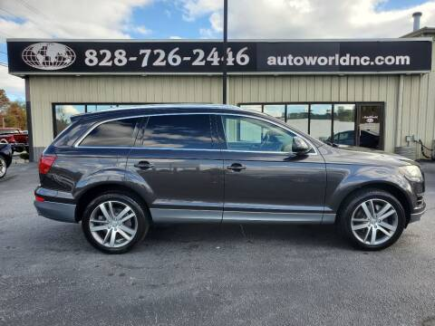 2013 Audi Q7 for sale at AutoWorld of Lenoir in Lenoir NC