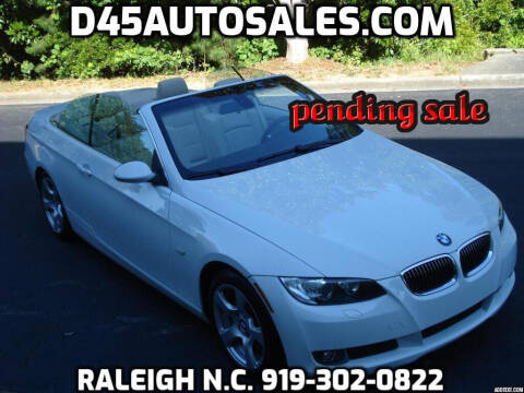 2008 BMW 3 Series for sale at D45 Auto Brokers in Raleigh NC
