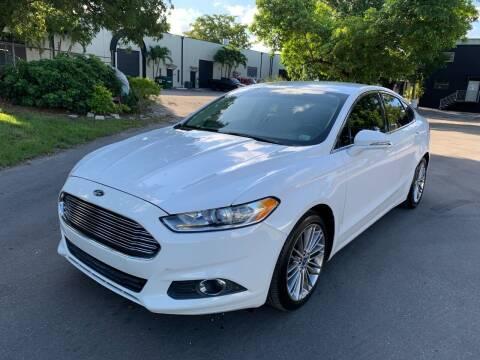 2013 Ford Fusion for sale at Roadmaster Auto Sales in Pompano Beach FL