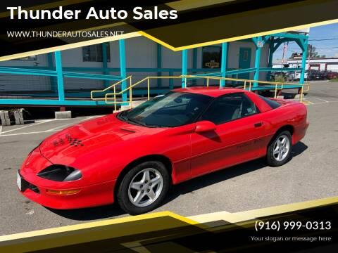1997 Chevrolet Camaro for sale at Thunder Auto Sales in Sacramento CA
