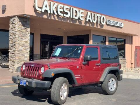 2012 Jeep Wrangler for sale at Lakeside Auto Brokers in Colorado Springs CO