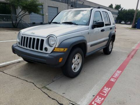 2006 Jeep Liberty for sale at ZNM Motors in Irving TX