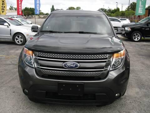 2015 Ford Explorer for sale at SUPERAUTO AUTO SALES INC in Hialeah FL