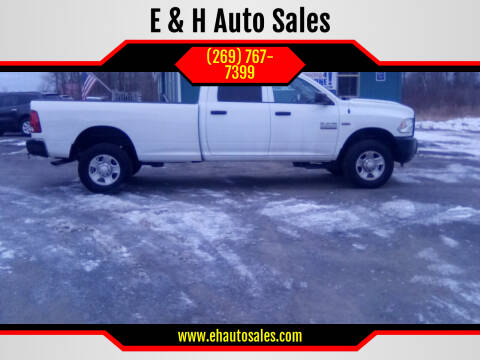 2015 RAM Ram Pickup 2500 for sale at E & H Auto Sales in South Haven MI