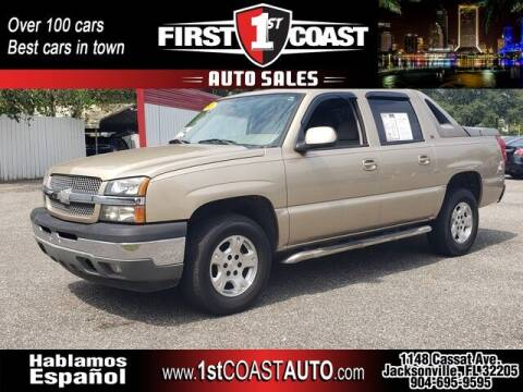 2005 Chevrolet Avalanche for sale at 1st Coast Auto -Cassat Avenue in Jacksonville FL