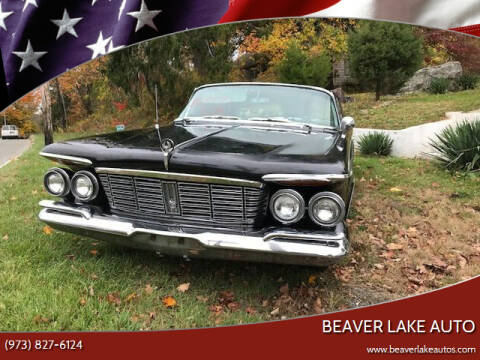 1963 Chrysler Imperial for sale at Beaver Lake Auto in Franklin NJ