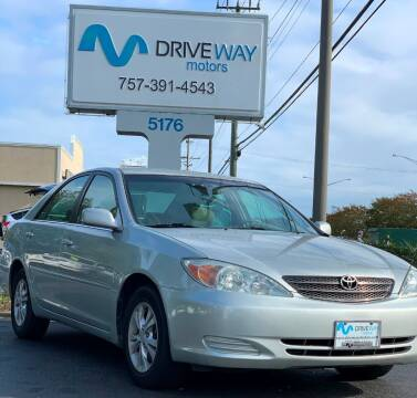 2004 Toyota Camry for sale at Driveway Motors in Virginia Beach VA
