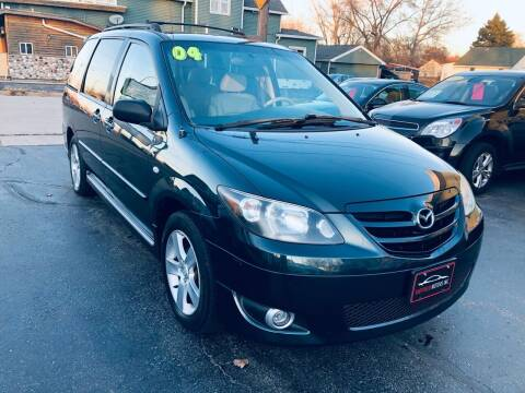 2004 Mazda MPV for sale at SHEFFIELD MOTORS INC in Kenosha WI
