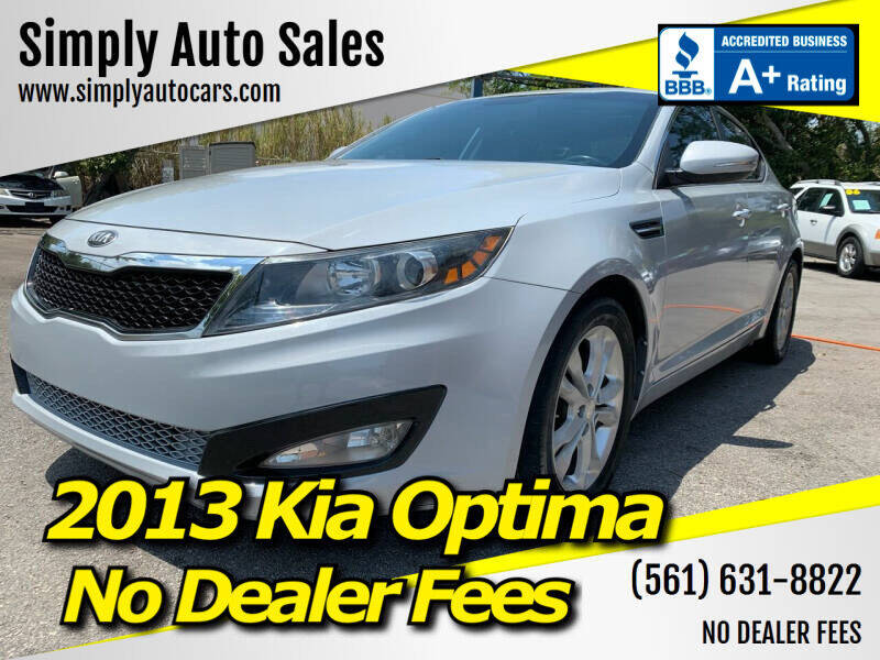 2013 Kia Optima for sale at Simply Auto Sales in Palm Beach Gardens FL