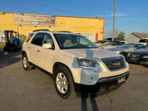 2009 GMC Acadia for sale at Virginia Auto Mall in Woodford VA