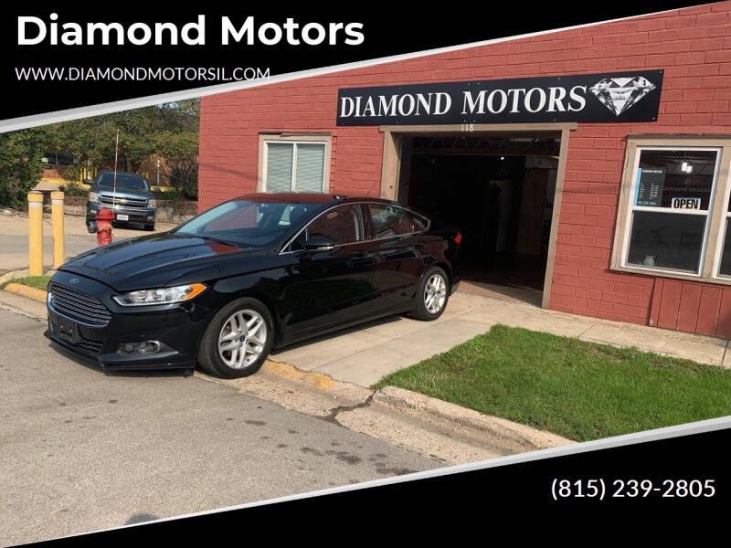 2016 Ford Fusion for sale at Diamond Motors in Pecatonica IL