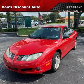 2005 Pontiac Sunfire for sale at Dan's Discount Auto in Gaston SC