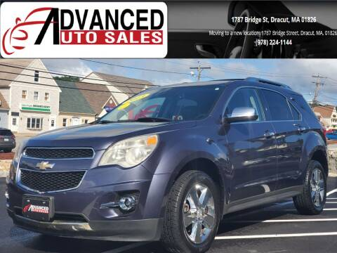 2013 Chevrolet Equinox for sale at Advanced Auto Sales in Dracut MA