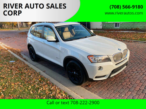 2013 BMW X3 for sale at RIVER AUTO SALES CORP in Maywood IL