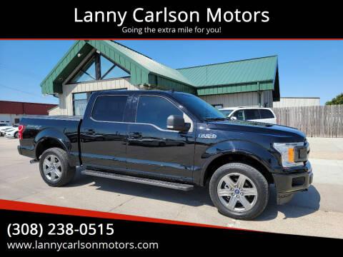 2018 Ford F-150 for sale at Lanny Carlson Motors in Kearney NE