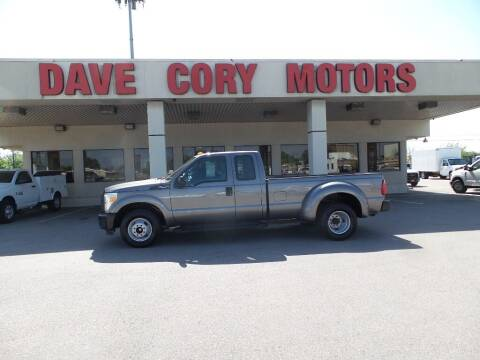 2012 Ford F-350 Super Duty for sale at DAVE CORY MOTORS in Houston TX