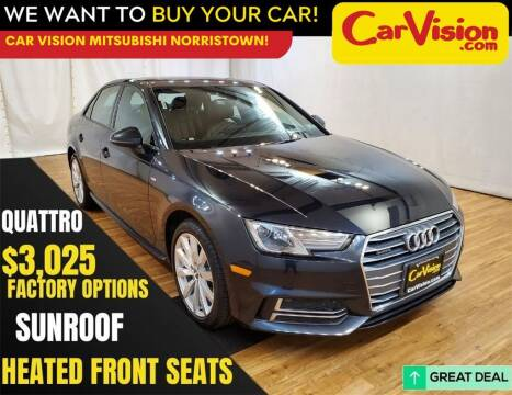 2018 Audi A4 for sale at Car Vision Mitsubishi Norristown in Trooper PA