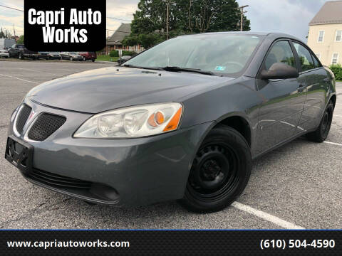 2007 Pontiac G6 for sale at Capri Auto Works in Allentown PA