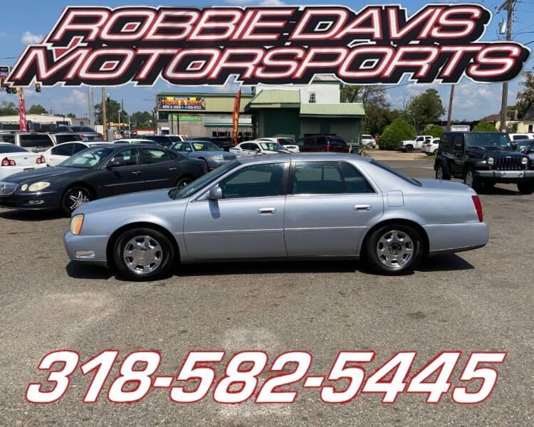 2005 Cadillac DeVille for sale at Robbie Davis Motorsports in Monroe LA