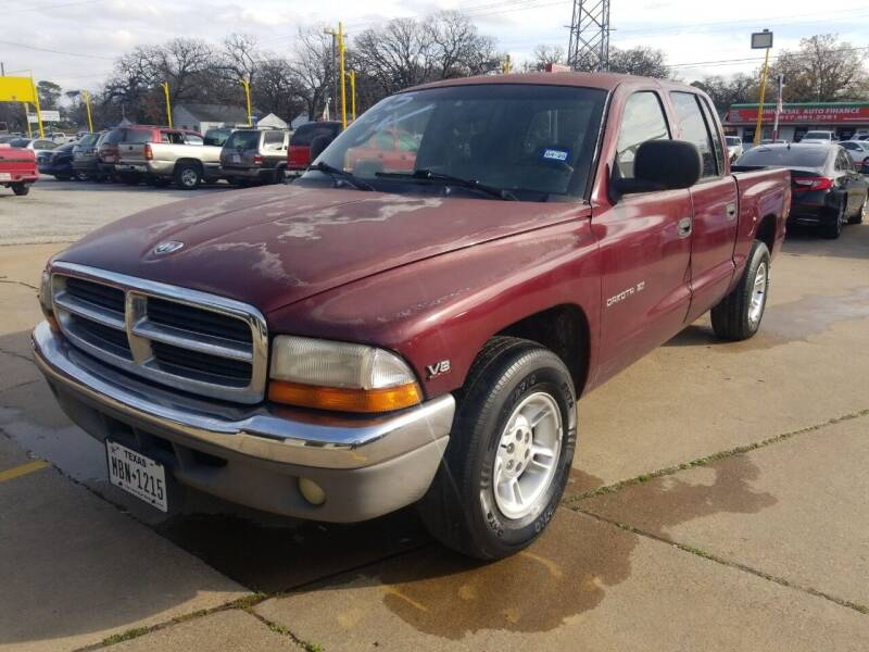 2000 Dodge Dakota for sale at Nile Auto in Fort Worth TX