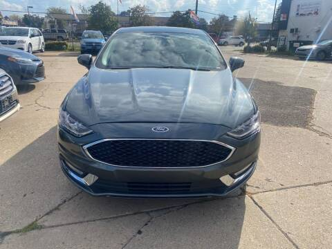 2018 Ford Fusion for sale at Minuteman Auto Sales in Saint Paul MN