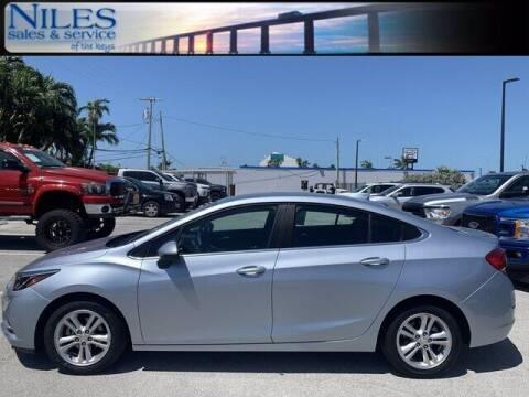 2018 Chevrolet Cruze for sale at Niles Sales and Service in Key West FL