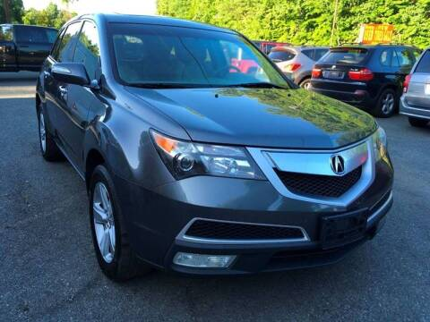 2011 Acura MDX for sale at D & M Discount Auto Sales in Stafford VA