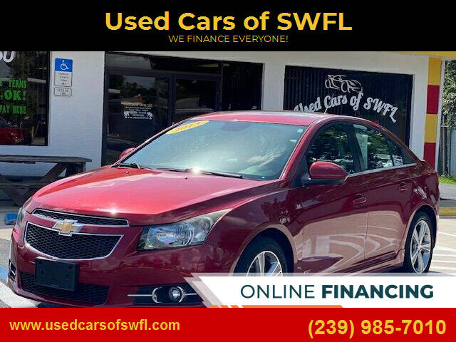 2013 Chevrolet Cruze for sale at Used Cars of SWFL in Fort Myers FL