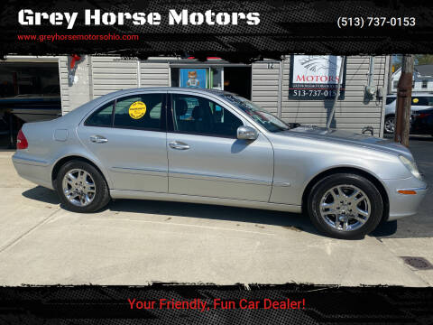 2005 Mercedes-Benz E-Class for sale at Grey Horse Motors in Hamilton OH